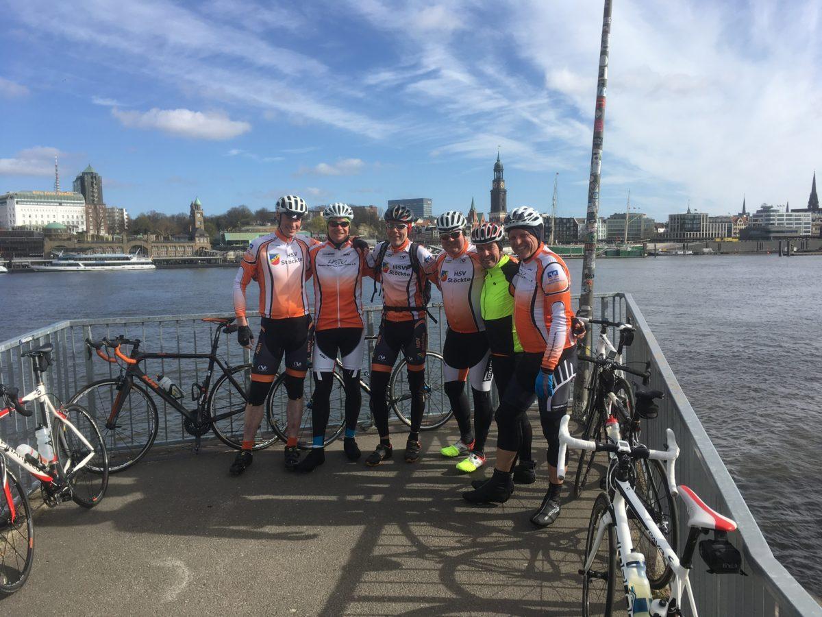 Anradeln: Durch den Hamburger Hafen und durch die Vier- und Marschlande